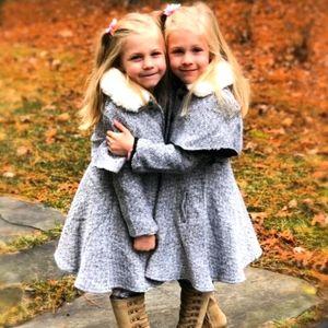 M.L Kids Girls Coat